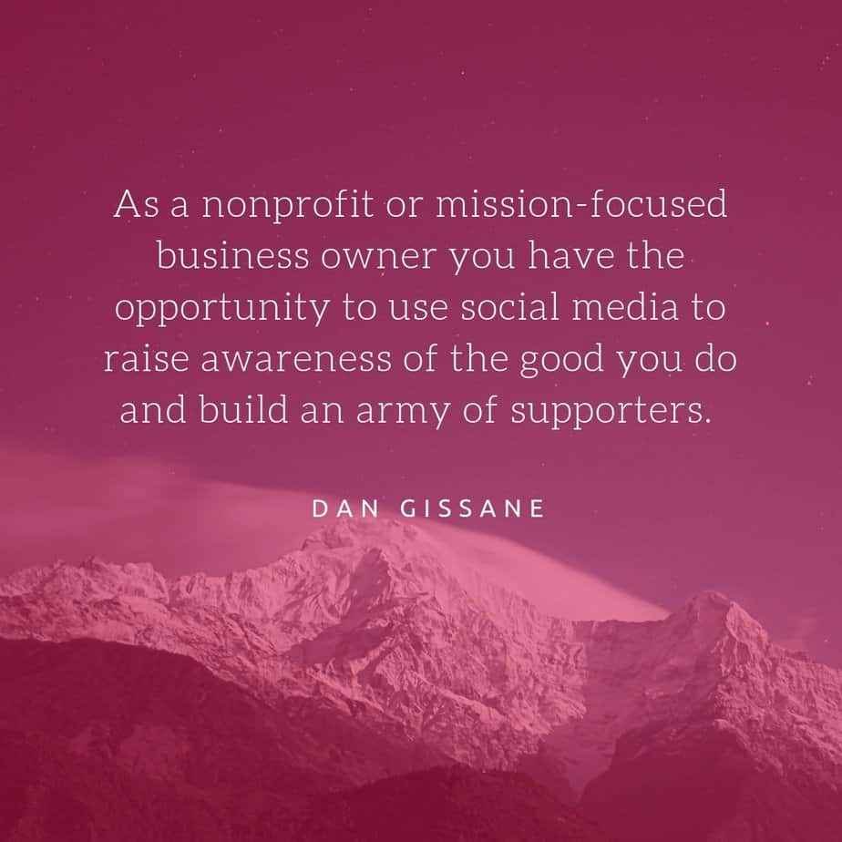nonprofits and business owners have an opportunity to use social media to build an army of supporters