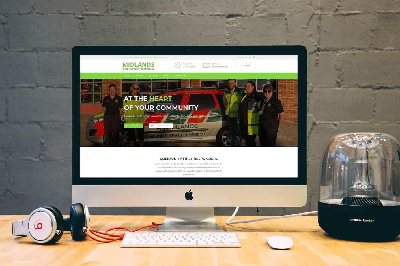 Websites for Charities   Web Design for Charities UK   Birmingham Website Design by Huxo