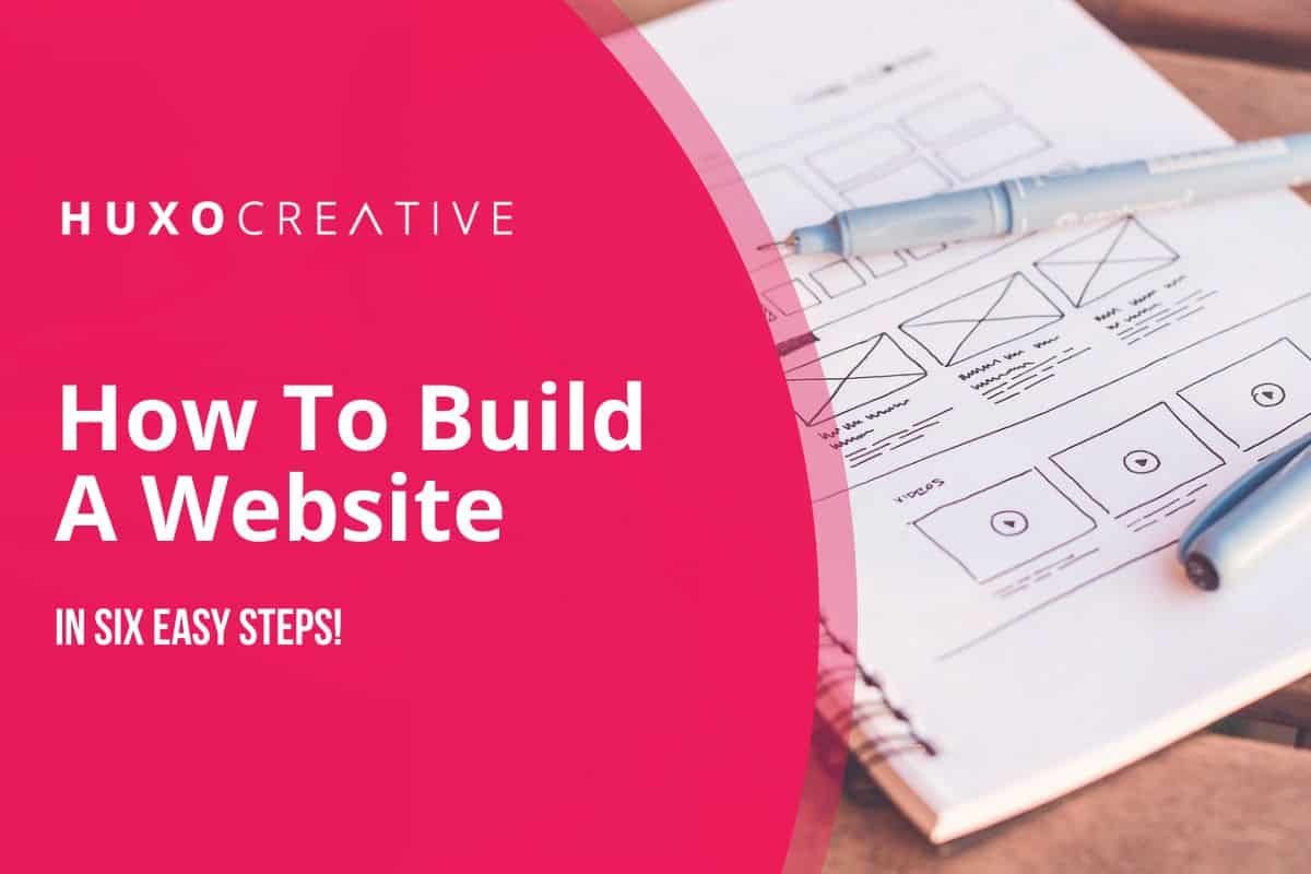 How to build a website in six easy steps