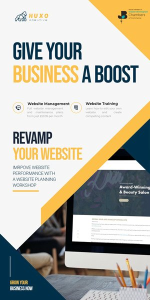 Revamp Your Website Banner Design Birmingham