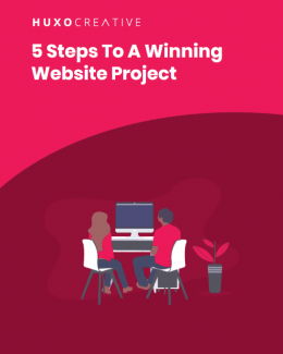 5 Steps To A Winning Website Project free ebook